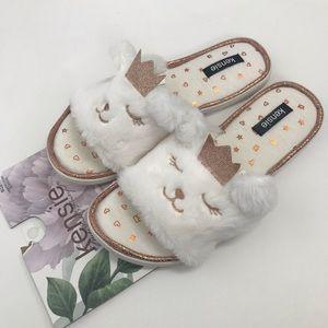 Kensie House Slippers Memory Foam Size 9